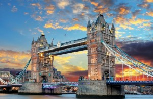 London nevezetességei - Tower Bridge
