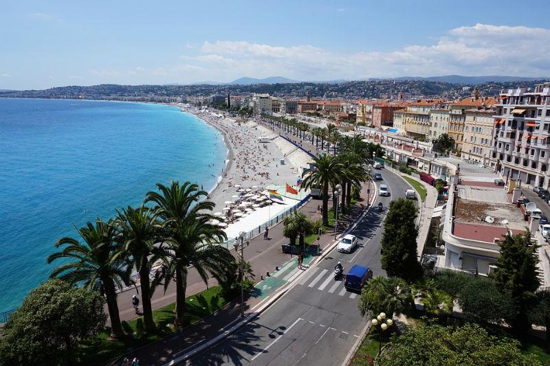 nizza látnivalók térkép Nizza (Franciaország)   netkoffer.hu