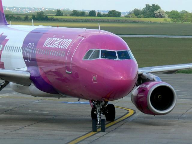 Wizzair repülőgép