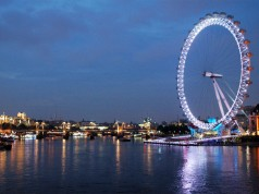 London Eye éjszaka