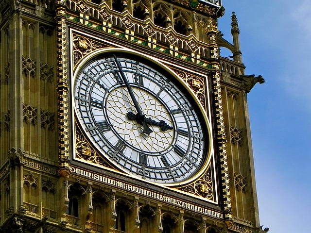 A Big Ben híres órája