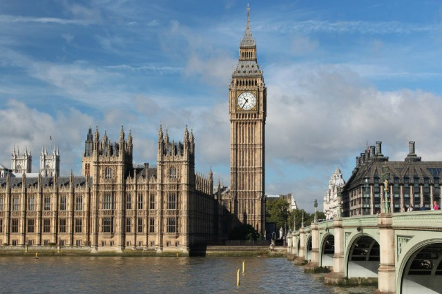 Big Ben, London egyik jelképe