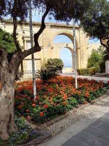 Málta látnivalók, Barakka-kert