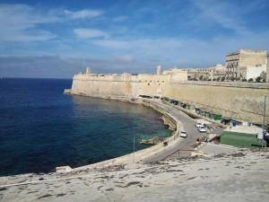 A máltai tengerpart