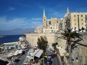 Valletta, városfal