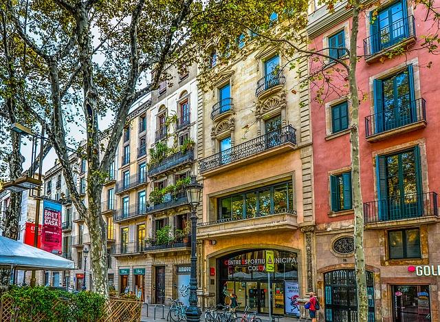 Barcelona belvárosa