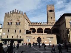Bologna Piazza Maggiore tér