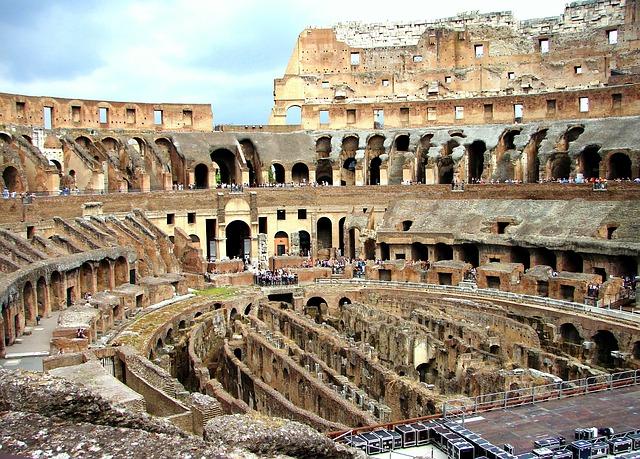 A Colosseum belülről