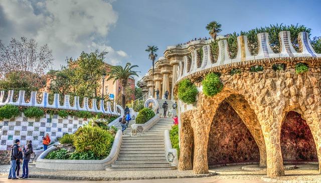 A hatalmas, különleges Güell Park