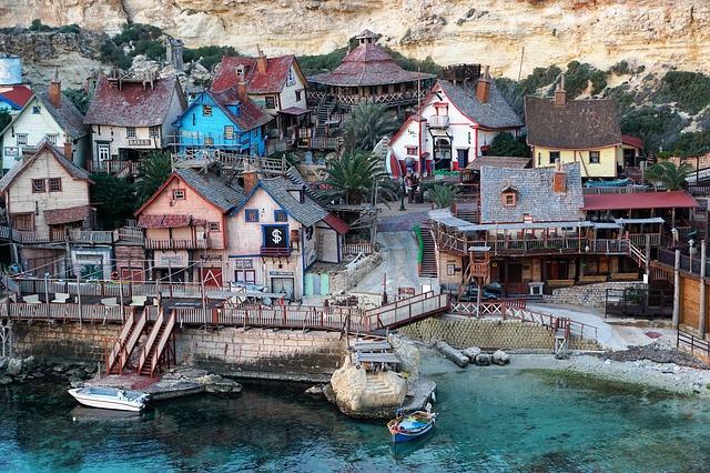 A Popeye falu Máltán