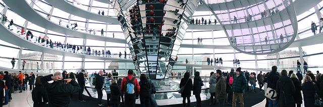 A Reichstag üvegkupolája