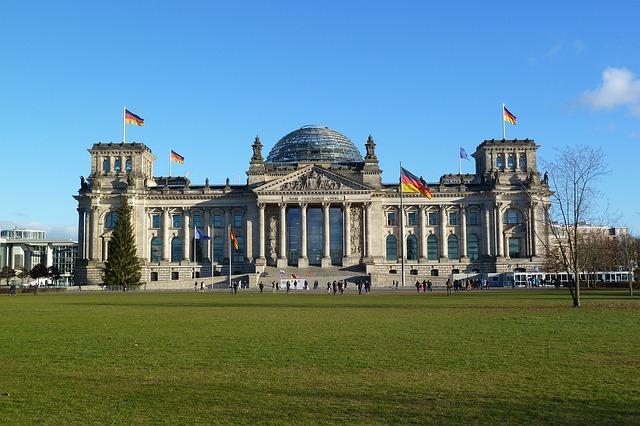 A Reichstag épülete kívülről