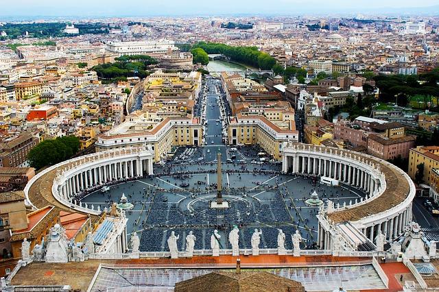 Vatikán, a Szent Péter tér