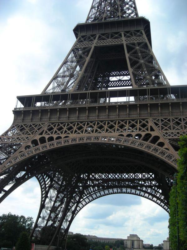 Az Eiffel-torony közelről