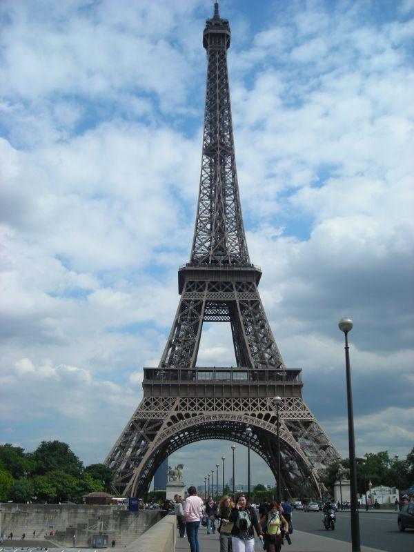 Az Eiffel-torony távolról
