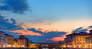 A leghíresebb firenzei látnivaló, a Ponte Vecchio