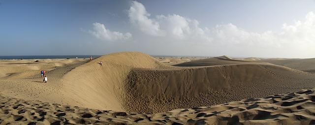 Gran Canaria sivatagos része