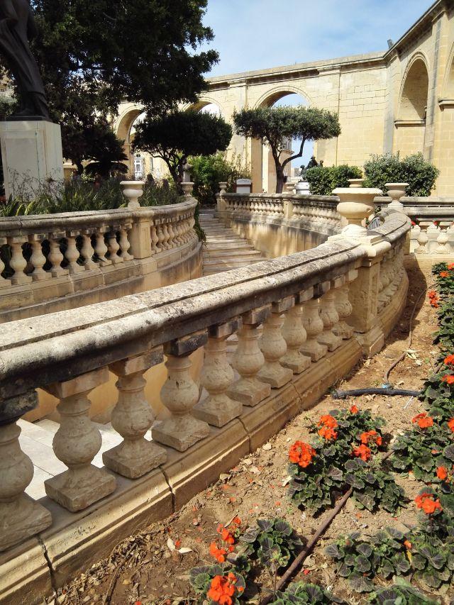 A Barakka-kert Málta egyik legszebb parkja