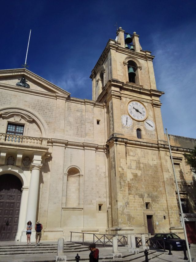 Málta egyik leghíresebb épülete, a vallettai Szent János társkatedrális