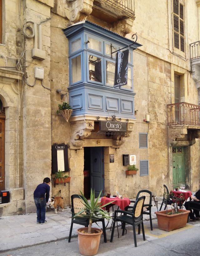 Életkép Málta fővárosából, Valletából