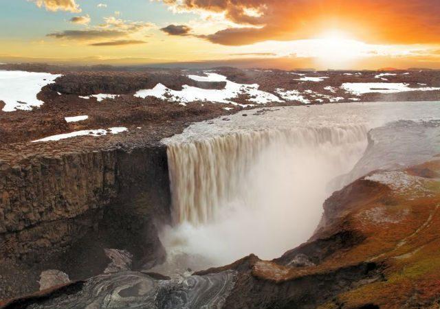 Izlandi vízesés