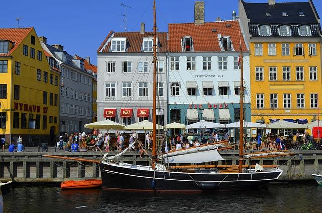 Koppenhága hangulatos utcaképe
