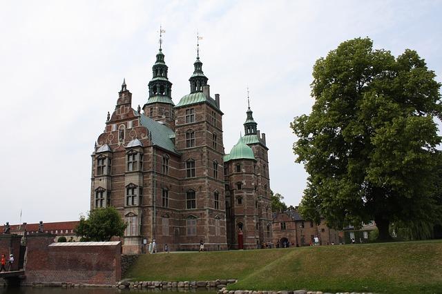 A Rosenborg kastély Koppenhágában