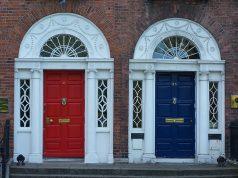 Dublin színes ajtói
