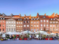 Varsó színes óvárosa