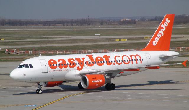 easyJet repülőgép