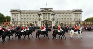 A Buckingham palota London egyik legkedveltebb látnivalója