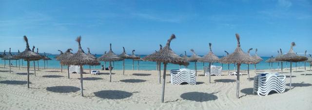 Mallorca tengerpart