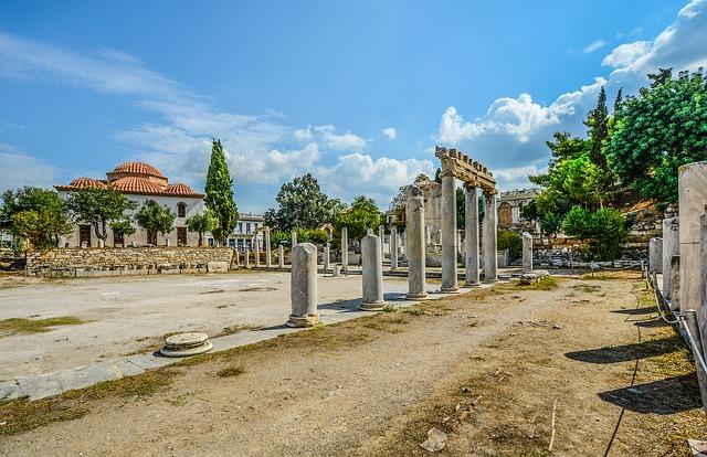 Athén ókori piactere az Agora