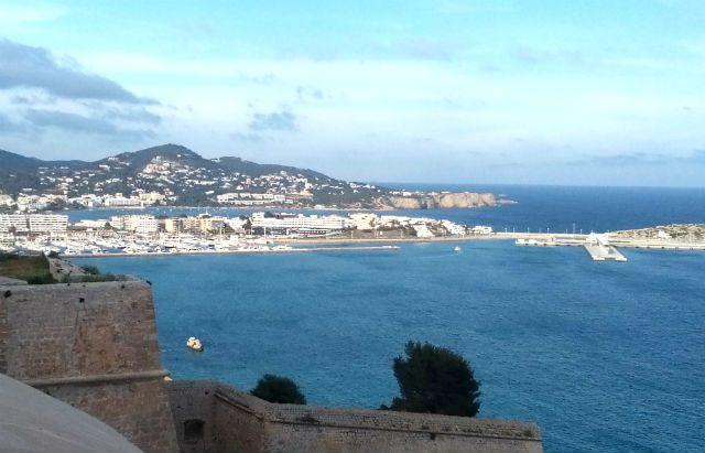 Ibiza, kilátás az erődből