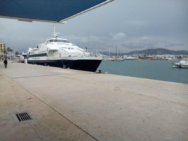 A kikötő Ibizán