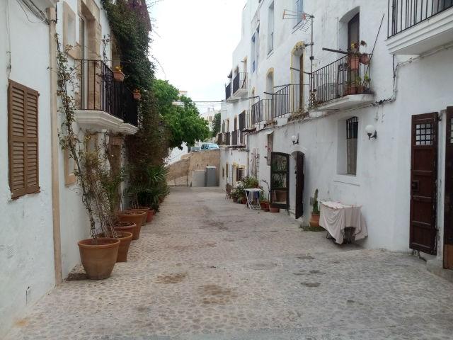 Ibiza óvárosa
