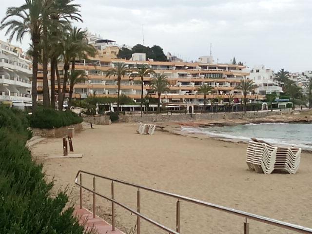 Ibiza tengerpartja