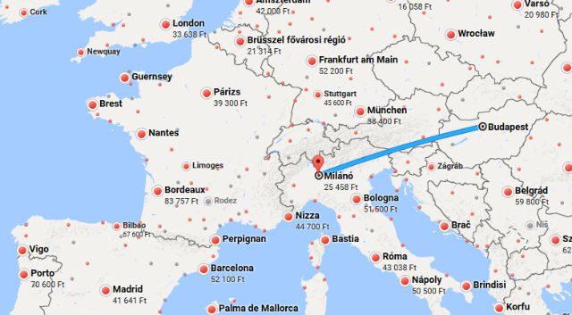 térkép kereső Az olcsó repjegyek titkai: a Google Flights repülőjegy kereső  térkép kereső