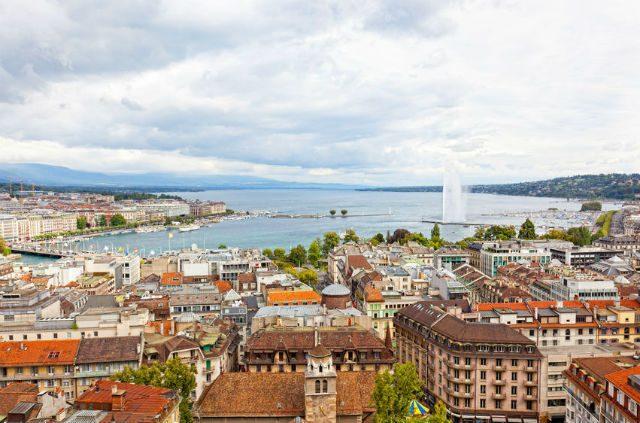 Genf leghíresebb látnivalója, a szökőkút
