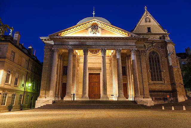 Saint Pierre katedrális Genfben