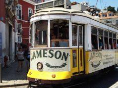 Lisszabon látványossága, a híres villamos