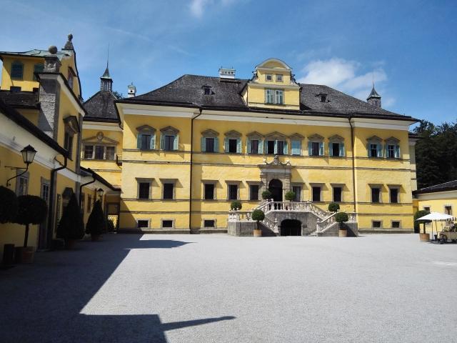 Hellbrunni kastély, egy híres salzburgi látnivaló