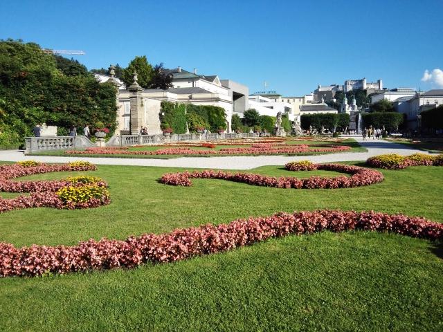 A Mirabell-kert Salzburgban