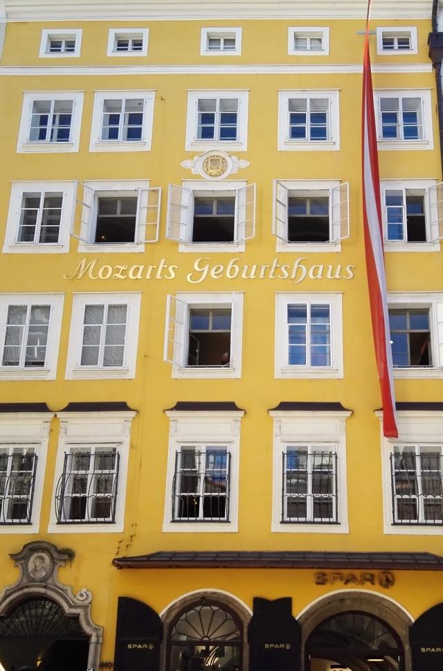 Híres salzburgi látnivaló, Mozart szülőháza