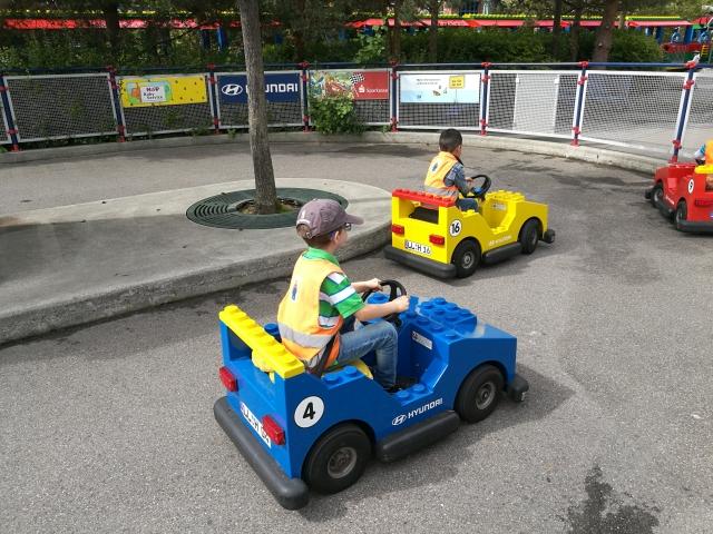 Legolandi autós kaland