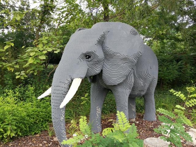 Szafaripark a németországi Legolandban