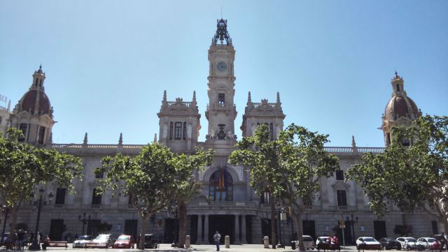 Városháza, Ayuntamiento
