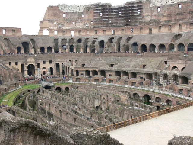 Colosseum küzdőtere