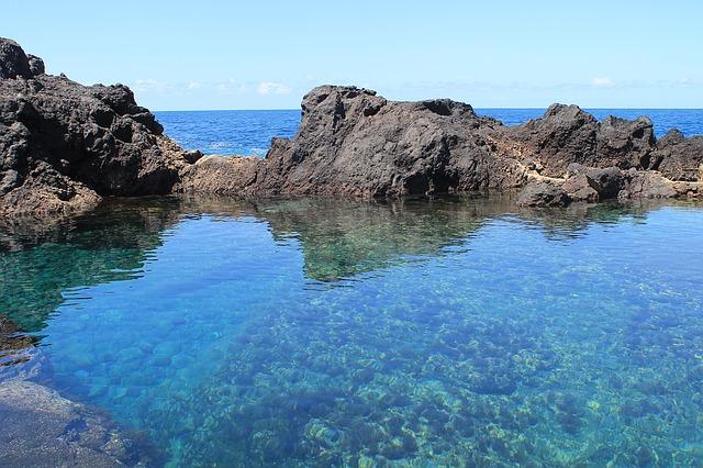 Természetes úszómedence Garachicoban