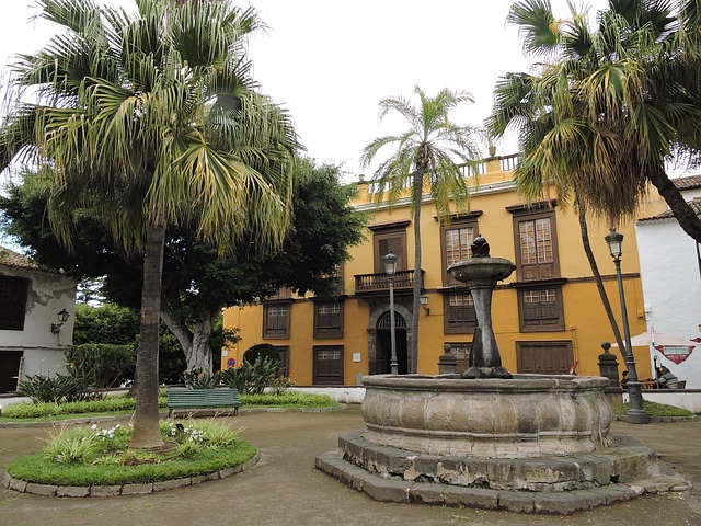 Icod de los Vinos főtere